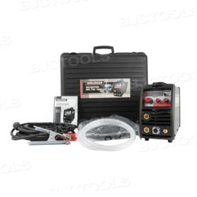 Weldkar TIG 1660 DC/HF Lasapparaat/Inverter 10-160A 230V + GRATIS Lashelm