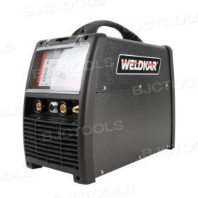 Weldkar TIG 2025 AC/DC Lasapparaat/Inverter 10-200A 230V incl. onderstel/waterkoeler
