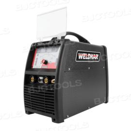Weldkar TIG 2025 AC/DC PULSE Lasapparaat/Inverter 10-200A 230V + GRATIS Lashelm