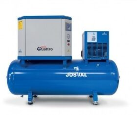 Josval 4UATTRO 10/500-AS-EDS Compressor geluidsarm met droger 7,5Kw