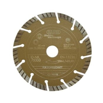 Baier 75333 Diamantschijf Gold II 150mm