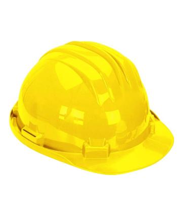 Climax 5 rg veiligheids helm geel