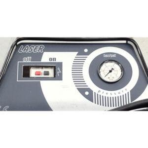 Hogedrukreiniger HD Industrial Laser Pro bedieningspaneel hdvandijk