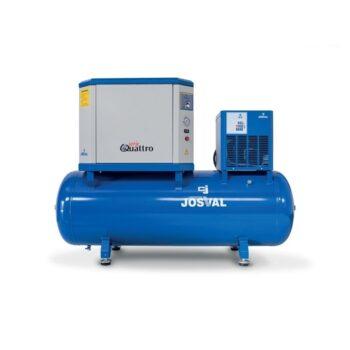 Josval – 4UATTRO 5.5 500 EDS – Compressor geluidsarm met droger