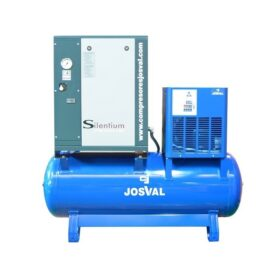 Josval – Silentium 20-500-YA-EDS – Schroefcompressor Complete installatie 15Kw