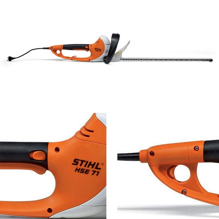 Stihl hse71 elektrische heggenschaar 600w incl gratis sleutelhanger bjc tools - Stihl hse 71 ...