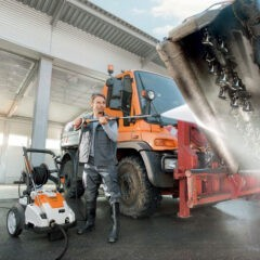 Stihl RE 362 Plus actie