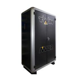 MAER Twin Cold Cabinet 200/21 Dubbele koud water hogedrukreiniger interpump 400V