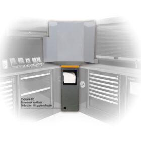 Beta C55AN/K-PC Binnenhoek werkbank Onderstuk Met papierrolhouder