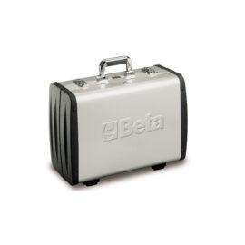 Beta 2033P EL/B Aluminium koffer Met 98 delige gereedschapsset voor elektronica onderhoud