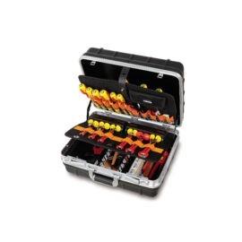 Beta 2036 EL/B Verrijdbare gereedschapskoffer met assortiment voor elektrisch en elektronica onderhoud