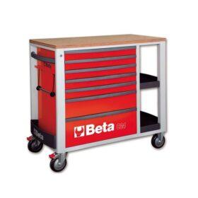 Beta 2400SL-R/VI2T Verrijdbare werkbank met 153-delige gereedschapsset voor industrieel onderhoud