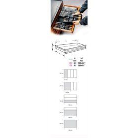 Beta T112 Harde voorgevormde inzetbak – Assortiment gereedschap