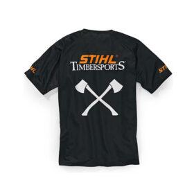 Functioneel T shirt Timbersports zwart1
