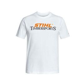 T shirt Timbersports wit