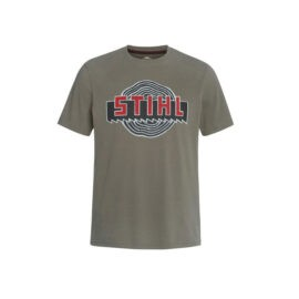 T shirt heritage green