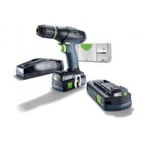 Festool – T18+3 Li 3,1-Com. S – Accu boor schroefmachine – 18V – 3.1Ah