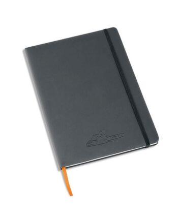 Notaboek DINA4 synthetisch leer