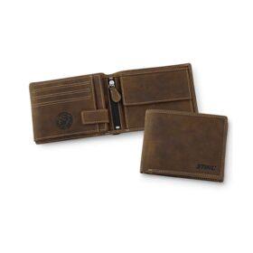 STIHL portemonnee bruin