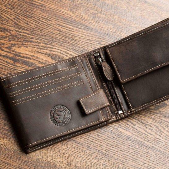 STIHL portemonnee bruin 3