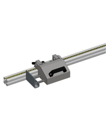 WIFY lengteaanslag verplaatsbaar analoog opklapbaar met veer