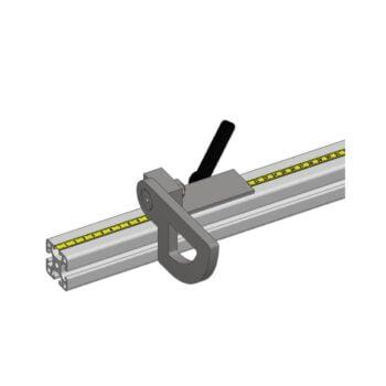 WIFY lengteaanslag verplaatsbaar opklapbaar