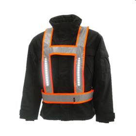 Light-Vest RWS Oranje met achterlicht