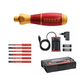 WIHA 590 speed EU E-schroevendraaier SET 1 speedE® 10-delig