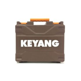Keyang Koffer met label DD18BL