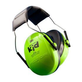 Peltor KID gehoorkap met hoofdbeugel Groen