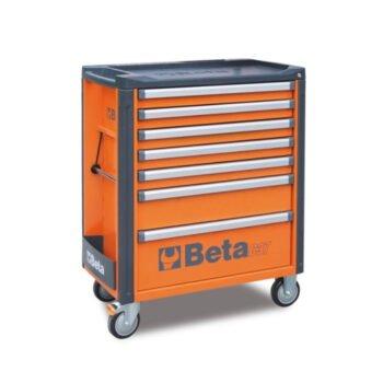 Beta C37/7 Gereedschapswagen met 7 laden - Diverse kleuren leeg