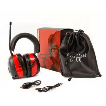 Sjeffers Koptelefoon Bluetooth / FM radio - Semi professioneel